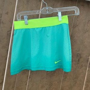 Nike Dri-Fit (Women's) Mint Green Skort